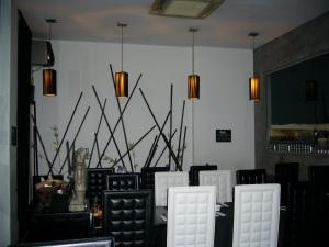 View of restaurant (in-door seating)