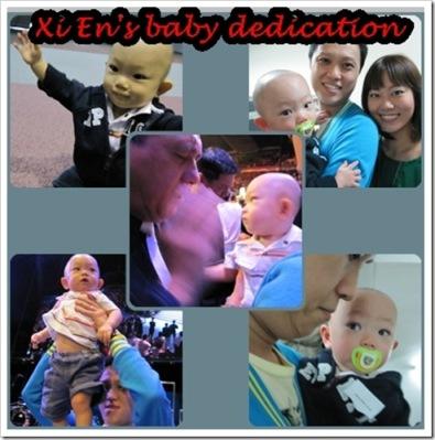 xi en baby dedication 2010