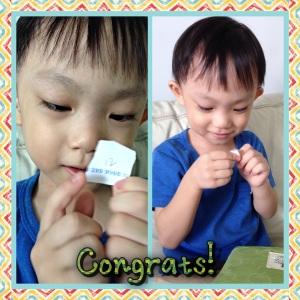 Winner! Congrats!