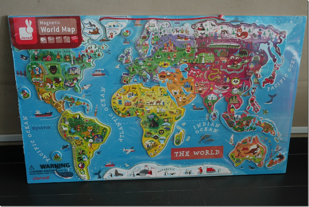 Janod Wooden Toys Review With My Miracle Baby Evespiration - Magnetic us map puzzle janod