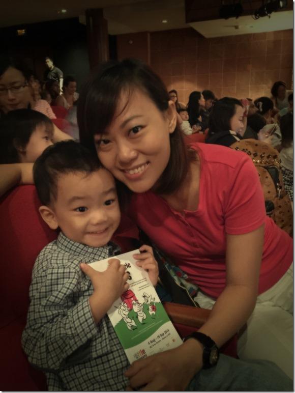 Eizac and Mummy