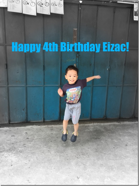 Happy Birthday Eizac