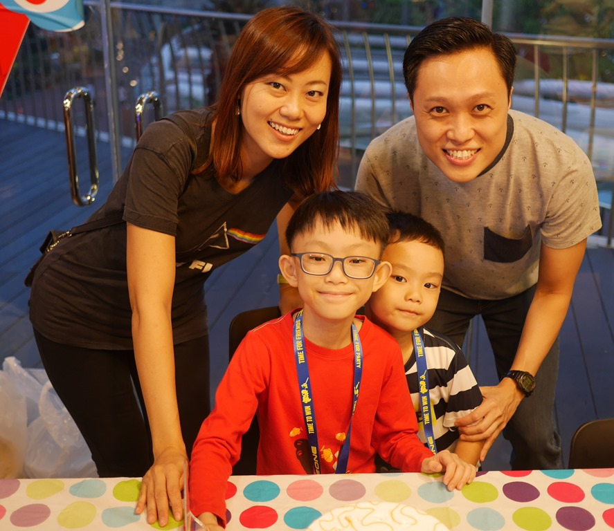BIRTHDAY PARTY AT TIMEZONE VIVOCITY